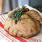 Brown Butter & Rosemary Wholewheat Soda Bread
