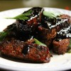 Sticky Maple Balsamic Glazed Tempeh