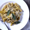 Pasta with Butternut Squash Sage Sauce