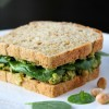 Smashed Avocado Chickpea Sandwich