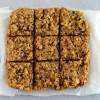 Peanut Butter & Dark Chocolate Chunk Oat Bars