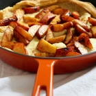 Maple Peach Dutch Baby