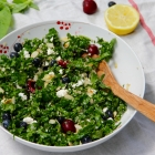 Red White & Blue (And Green!) Patriotic Power Salad