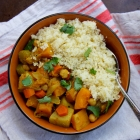 Autumn Veg Stew with CousCous
