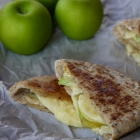 Apple Cheddar Pita Pockets