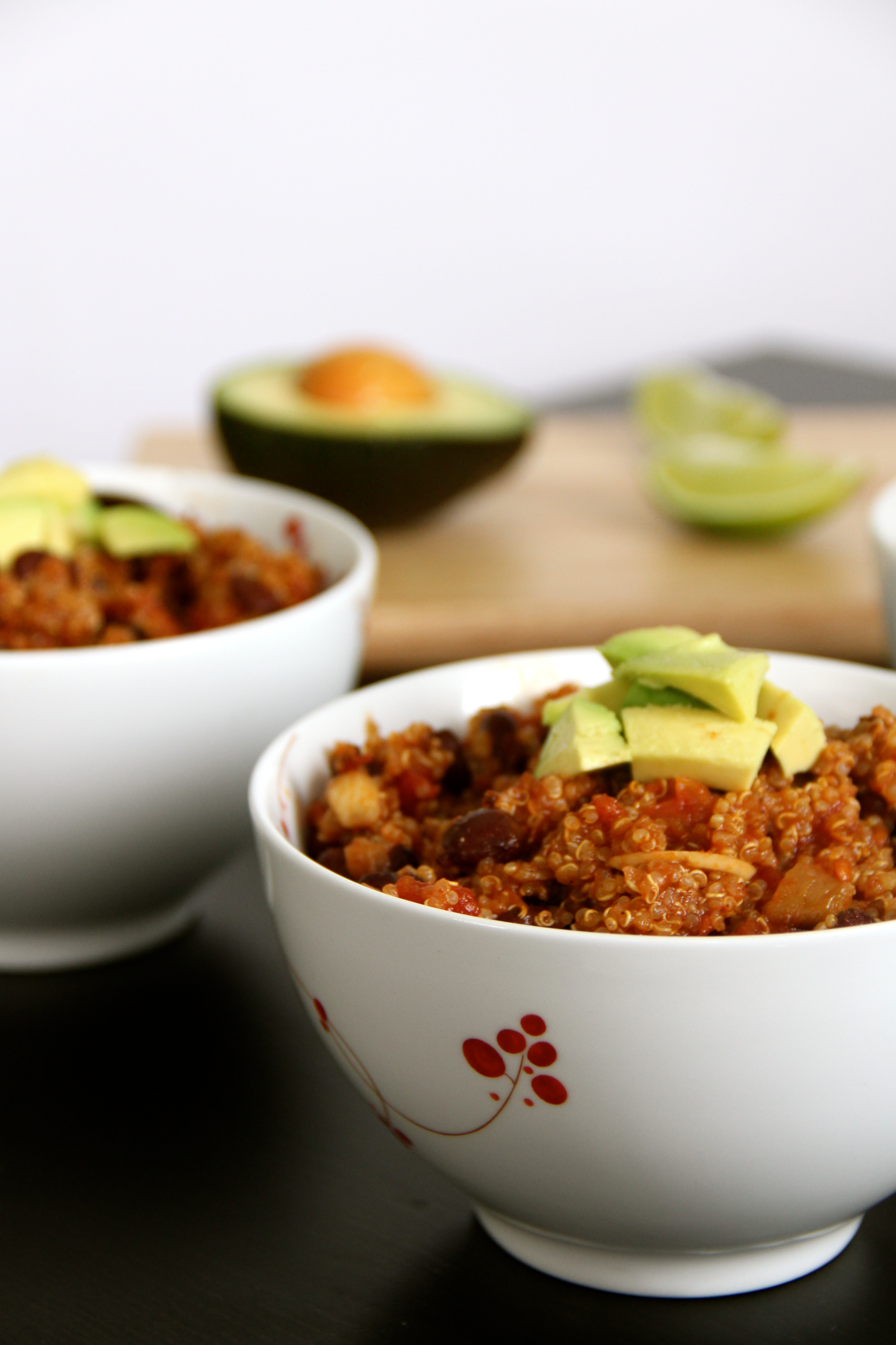 Black Bean & Quinoa Chili- Emmas Little Kitchen