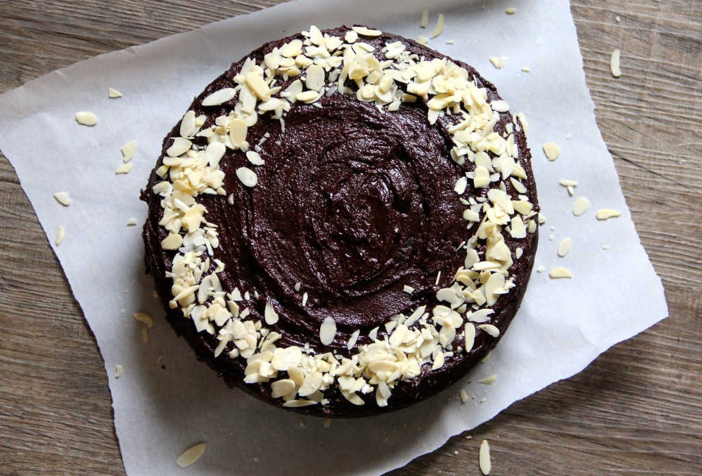 Chocolate & Courgette Honey Cake