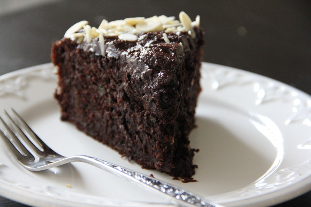 Chocolate & Courgette Honey Cake- Emma's Little Kitchen