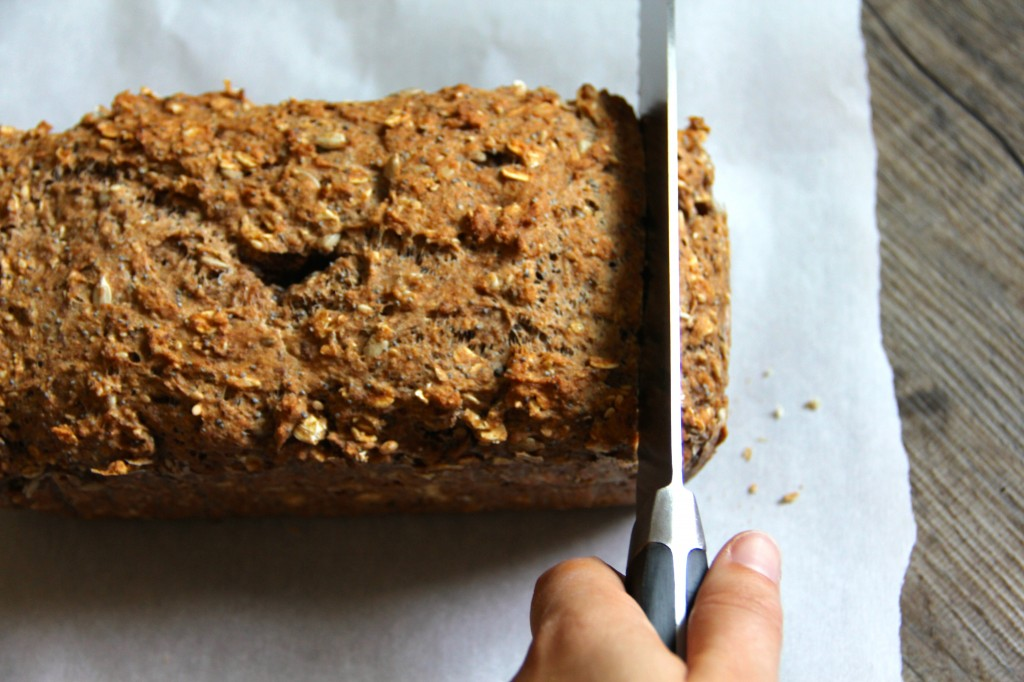Quick Seed & Oat Loaf- Emma's Little Kitchen