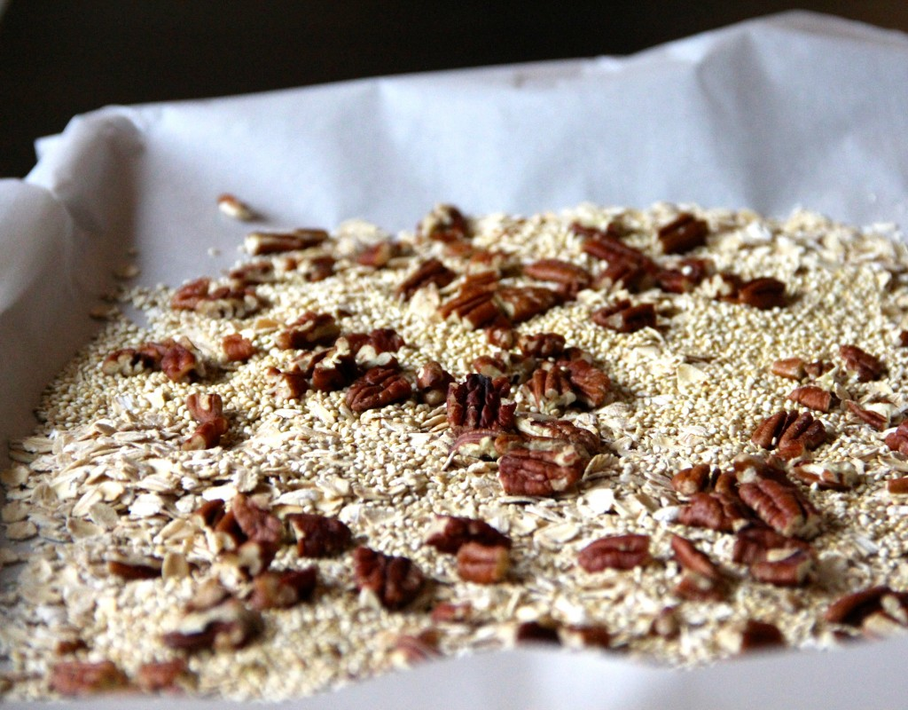 Pumpkin, Pecan & Cranberry Granola- Emma's Little Kitchen