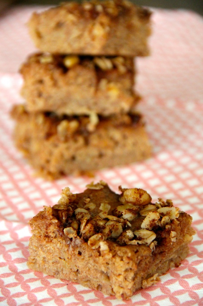 Apple & Cinnamon Crunch Bars