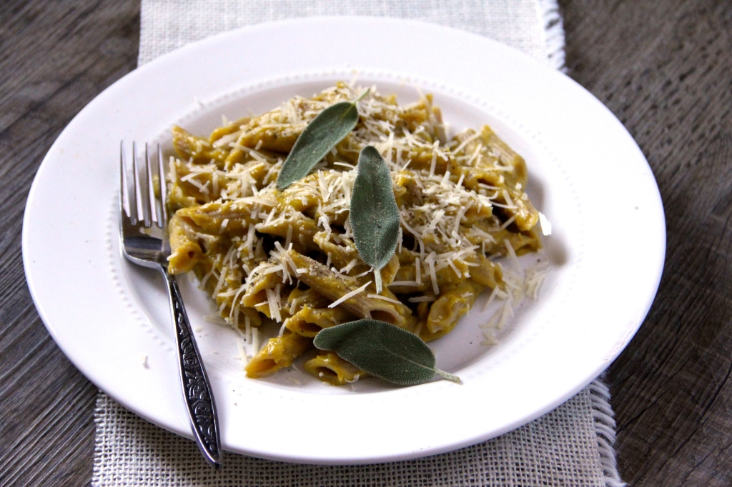Pasta with Butternut Squash Sage Sauce - Emma's Little Kitchen