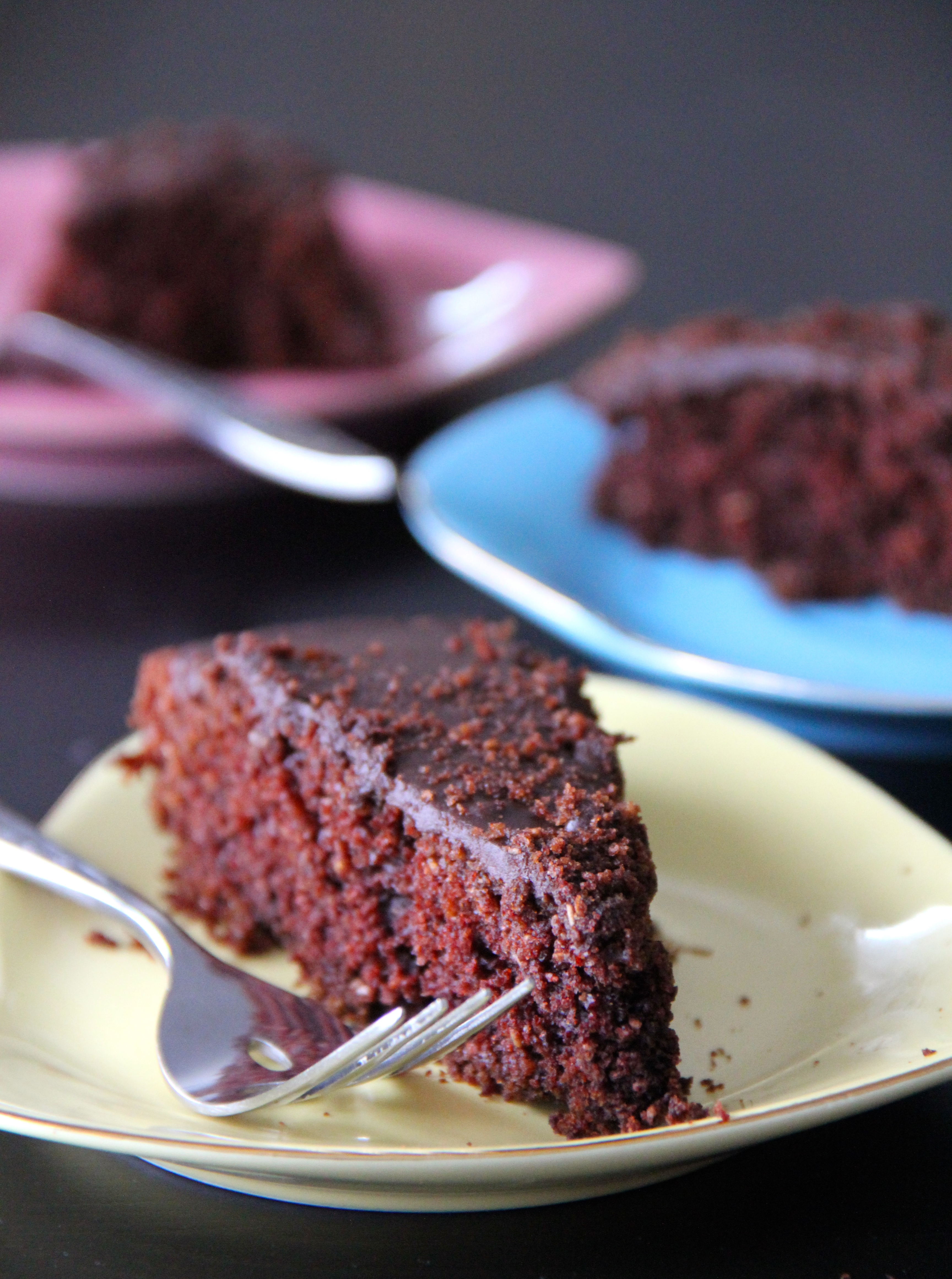 Awesome Whole Wheat Vegan Chocolate Red Wine Cake