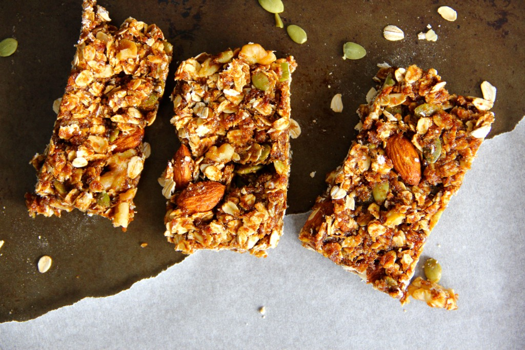 Gingerbread Granola Bars- Emma's Little Kitchen
