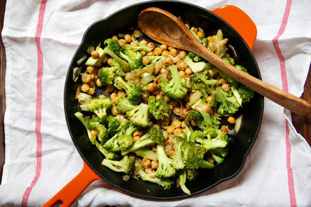 Redeeming Broccoli Chickpea Bowl- Emma's Little Kitchen