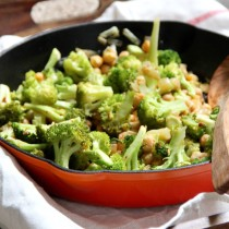 Redeeming Broccoli Chickpea Bowl-- Emma's Little Kitchen