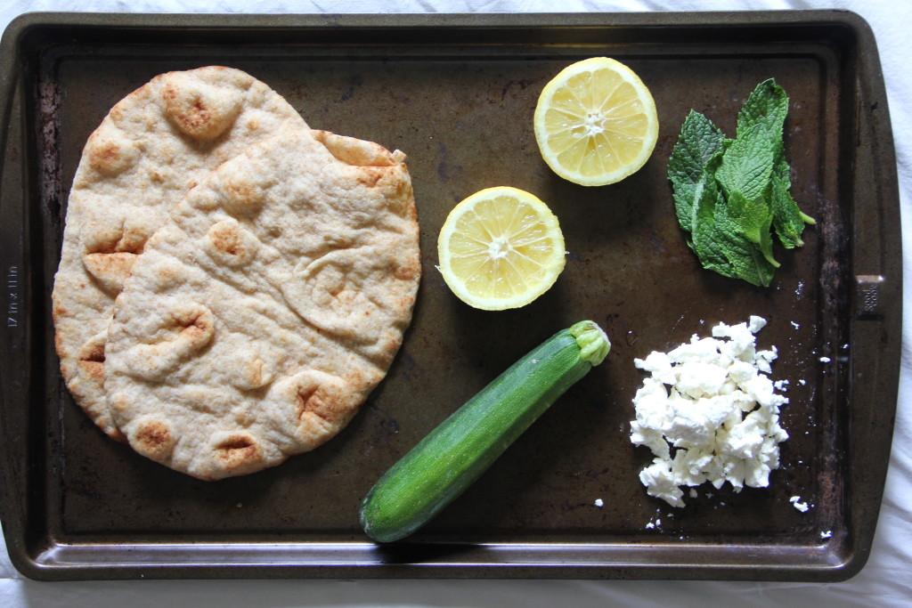 Courgette & Lemon Pizza- Emma's Little Kitchen