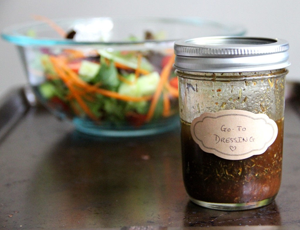 My Go-To Salad Dressing from Emma's Little Kitchen