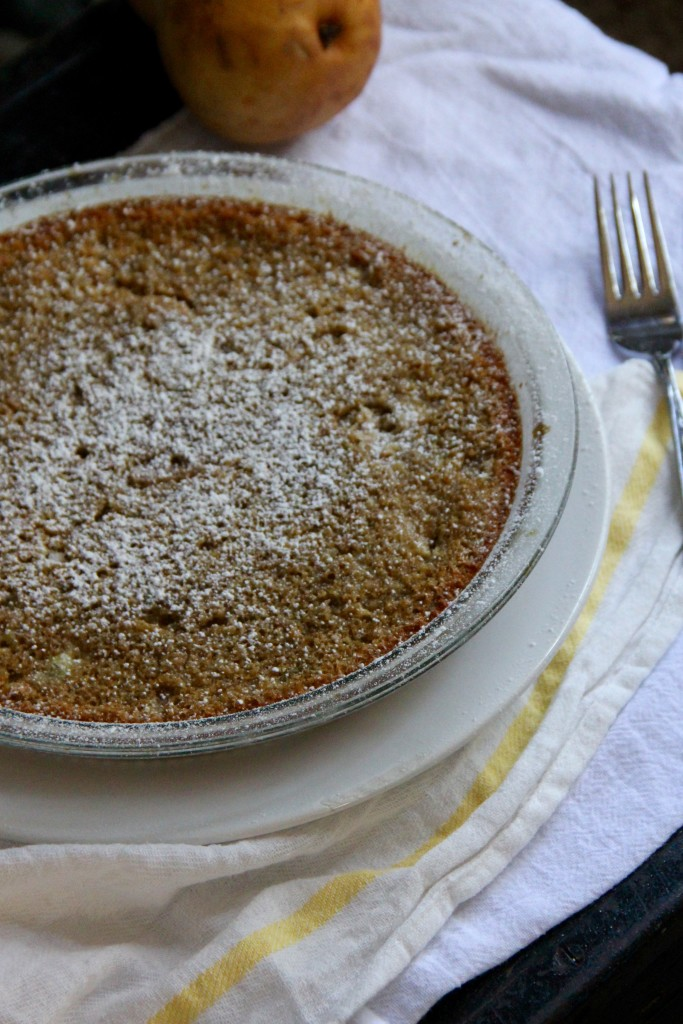 Pear Ginger Clafouti