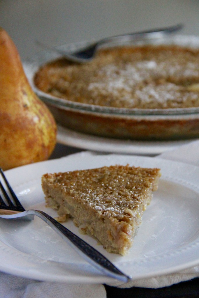 Pear Ginger Clafouti- Emma's Little Kitchen