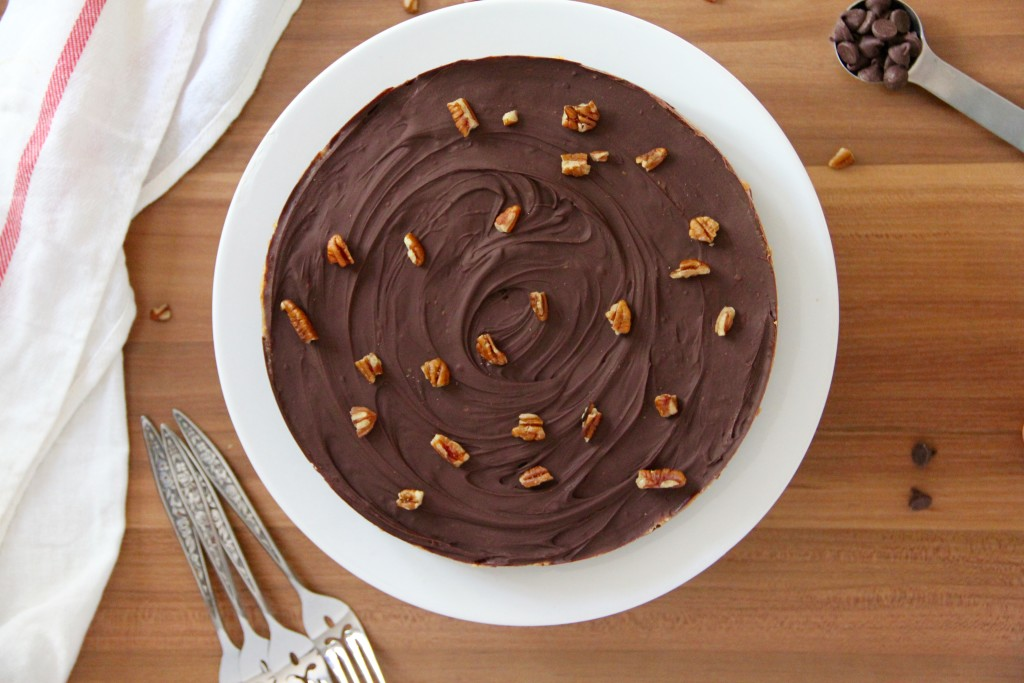 Salted Date Caramel Chocolate Tart (no bake!)