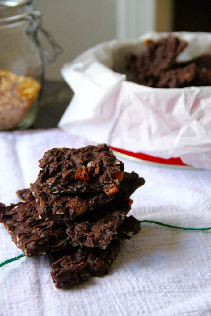 Chocolate Orange Granola Bark- Emma's Little Kitchen