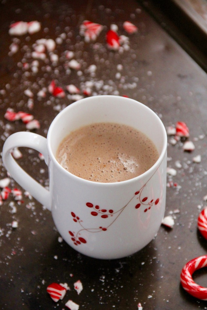Peppermint Hot Chocolate (Naturally Sweetened!)