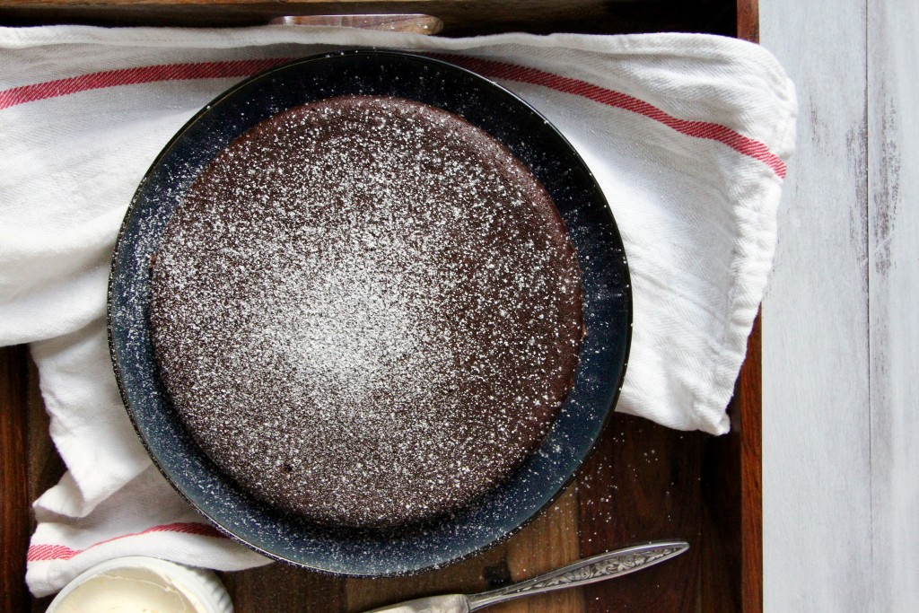 Flourless Chocolate Olive Oil Cake- Emma's Little Kitchen