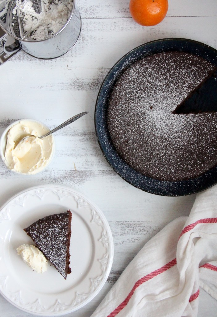Flourless Chocolate Olive Oil Cake