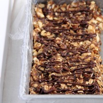 Coconut Cashew Granola Bars- Emma's Little Kitchen