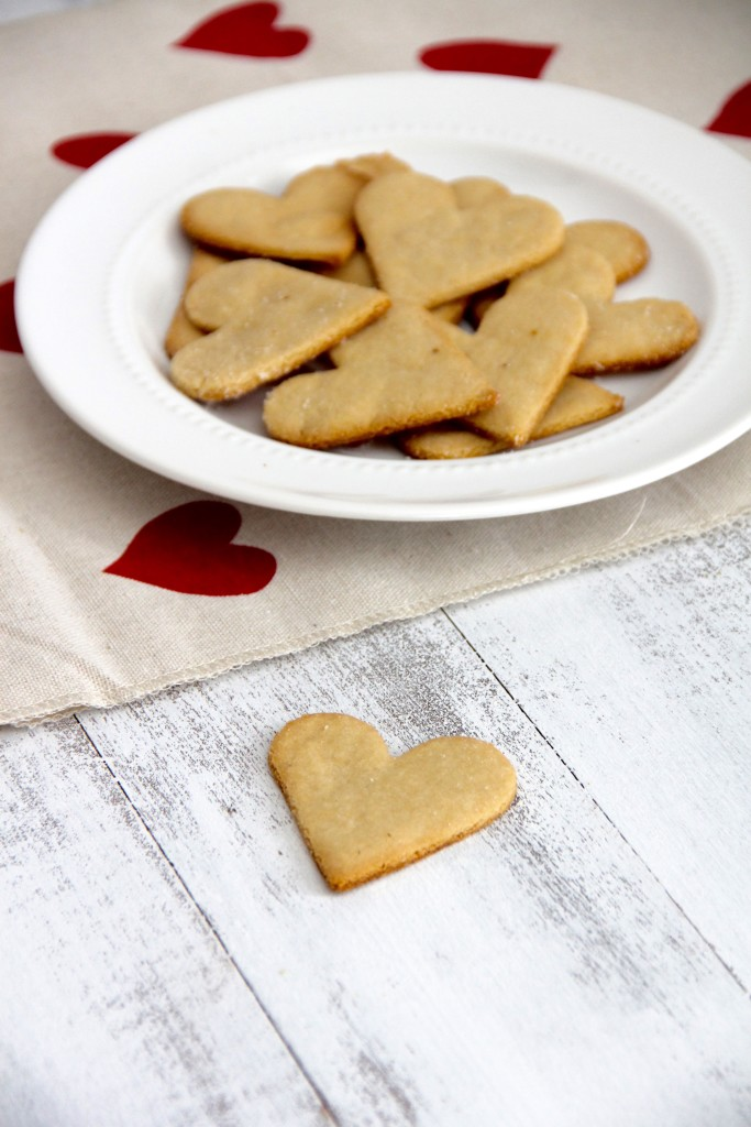 Simple Almond Hearts- Emma's Little Kitchen