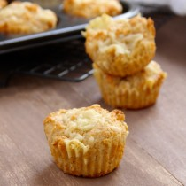 Whole Wheat Welsh Rarebit Muffins- Emma's Little Kitchen