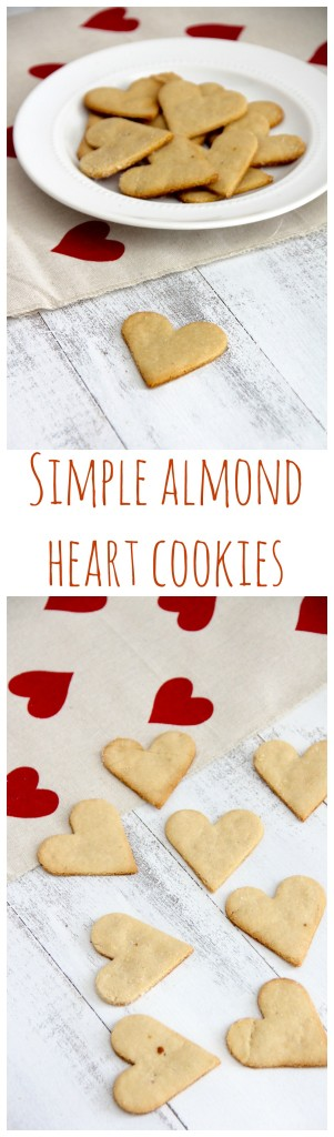 Simple Almond Hearts- Emma''s Little Kitchen