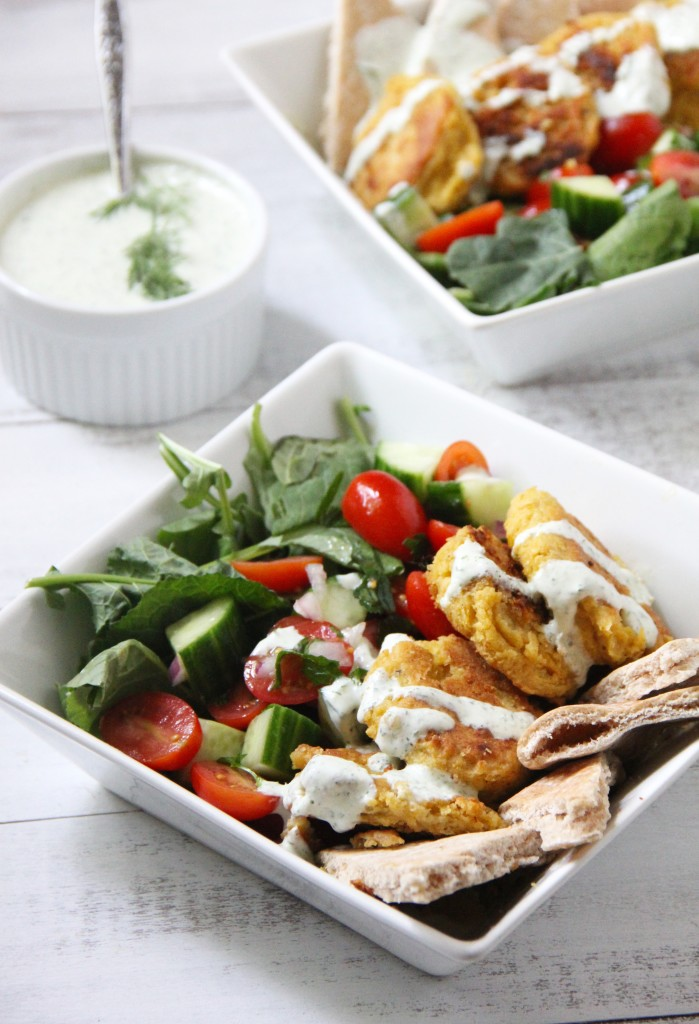 Chickpea Gyro Bowl