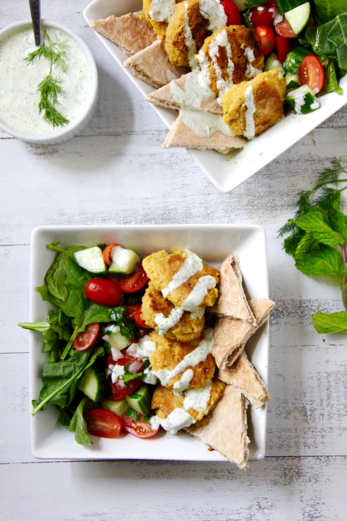 Chickpea Gyro Bowl- Emma's Little Kitchen