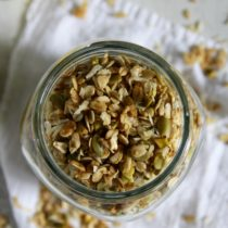 Lemon Pistachio Granola- Emma's Little Kitchen