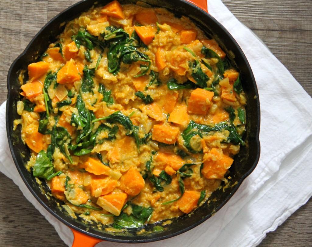 Sweet Potato Pineapple Curry- Emma's Little Kitchen